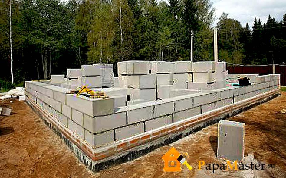 Строить дом своими руками газобетон