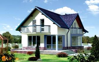красивый дом из газоблоков