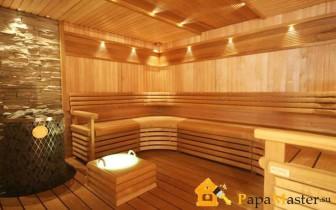 фото внутренней отделки бани