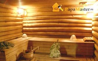 фото внутренняя отделка бани
