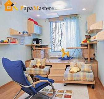 дизайн детской комнаты фото 11