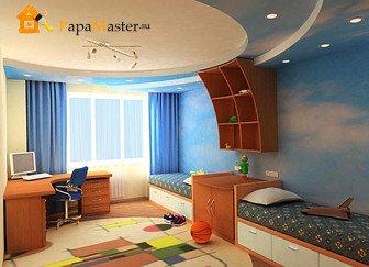 дизайн детской комнаты фото 1