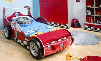 Детская с кроватью- машиной