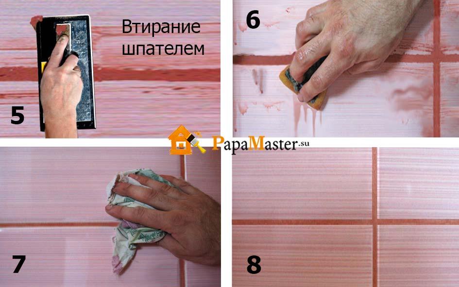 Как приготовить затирку для плитки: различные способы