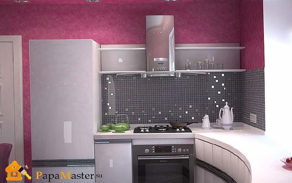 Ремонт кухни интерьер