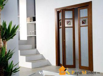 двери гармошка межкомнатные 3