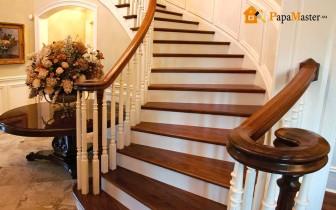 фото лестницы в деревянном доме