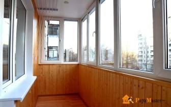внутренняя отделка балкона и способы его остекленения
