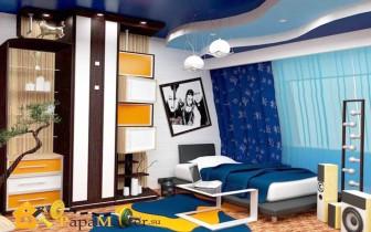 Дизайн современной комнаты для подростка мальчика