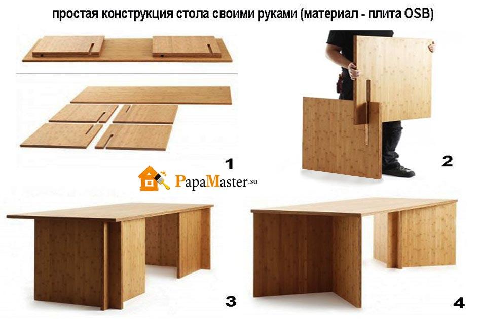 Как сделать стол с ящиками 136