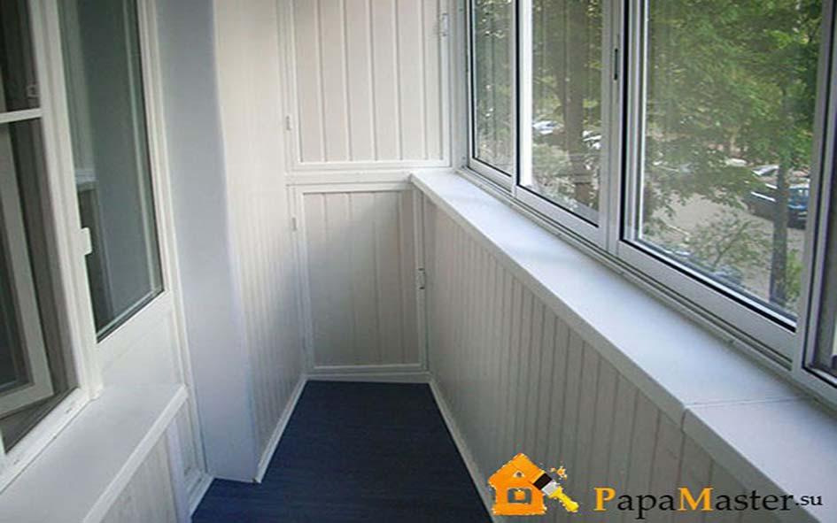 Отделка пластиковыми панелями балкона своими руками