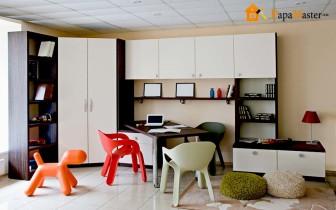дизайн комнаты для подростка мальчика с рабочей зоной