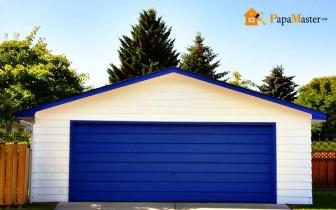 гаражные ворота с размерами подходящими для личного авто