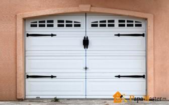 вариант гаражных ворот