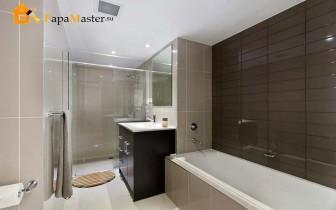 Пластиковые панели отделка ванной комнаты фото