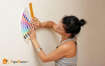 покраска стен краской водоэмульсионной