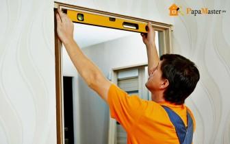 самостоятельный ремонт двери