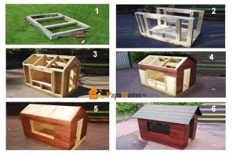 этапы создания будки для собаки своими руками по этапам