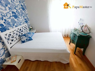 фото узкой спальни