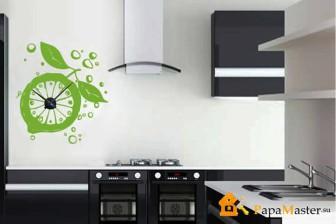 часы настенные для кухни в интерьере