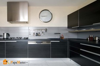 часы настенные в кухне