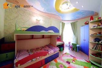 детская кровать со столом