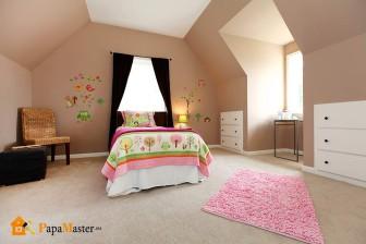 интерьеры спален для девочек
