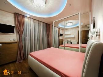интересные предложения в дизайне узких спален в квартире