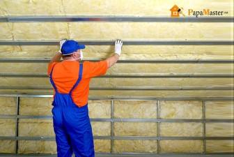 теплоизоляция потолка дома минеральной ватой