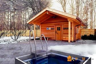 вариант строения каркасной бани 4