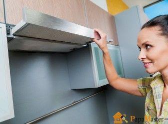 Встроенные вытяжки для кухни