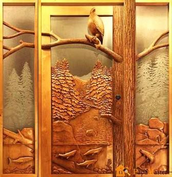деревянные-двери-своими-руками