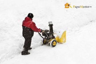 электрическая снегоуборочная машина для дома-4