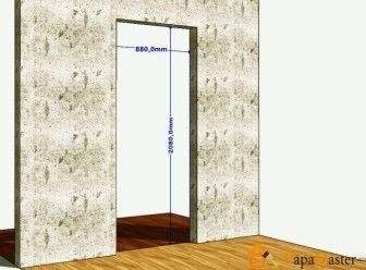 Дверной проем из гипсокартона своими руками