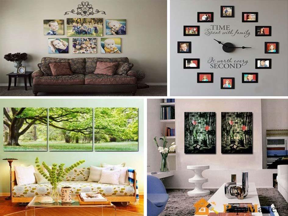 Как в квартире сделать стену красивой 194