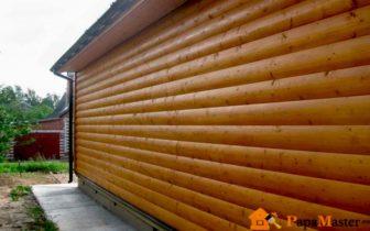 Наружные панели для отделки домов  - деревянные