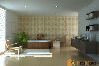 Натяжные потолки в ванной с отзывами