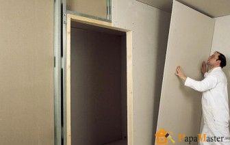 Обшивка стен гипсокартоном видео