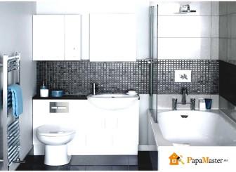 особенности дизайн ванной комнаты с угловой ванной