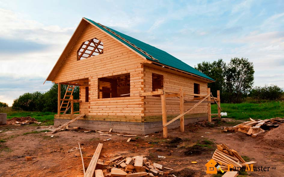 Как начать строить дом из бруса 112