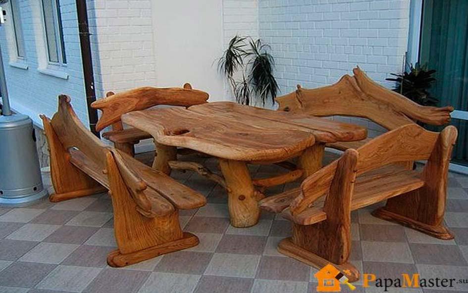 Как сделать мебель из дерева своими руками кухню 199