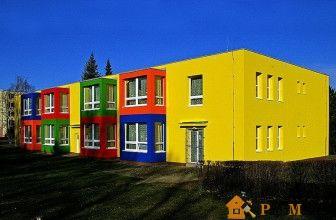 Краска акриловая фасадная