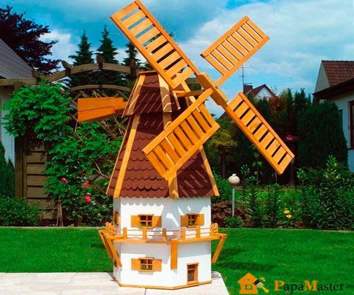 Мельницы декоративные для сада