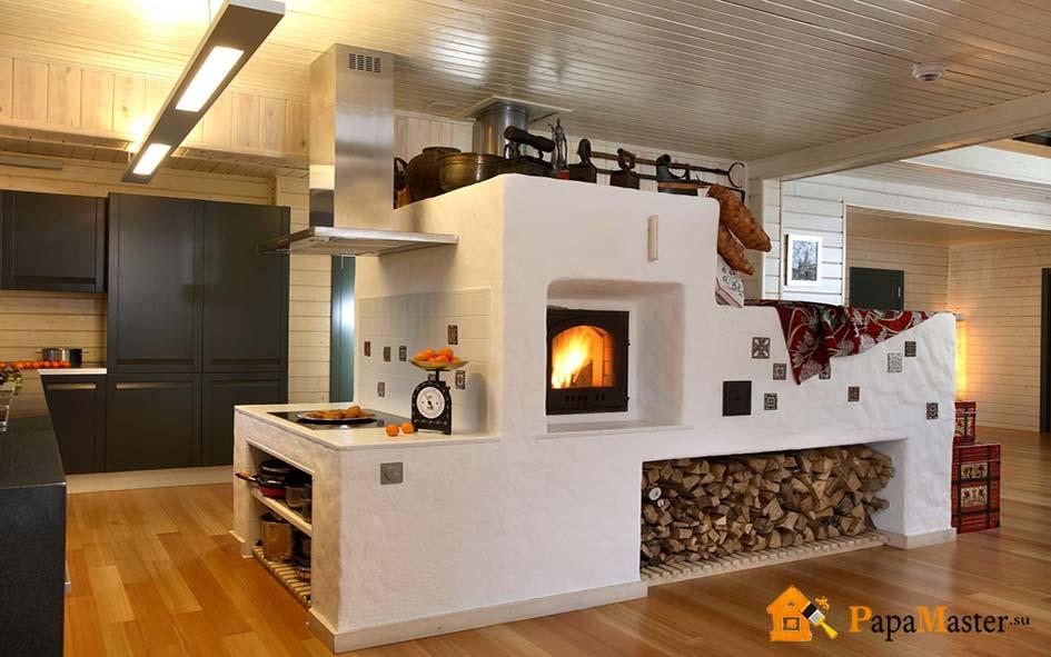 Кирпичная отопительная печь: эффективный источник обогрева дома и привлекательный элемент интерьера Папа мастер!