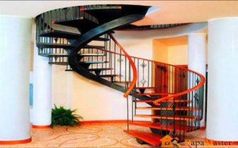 Винтовые металлические лестницы