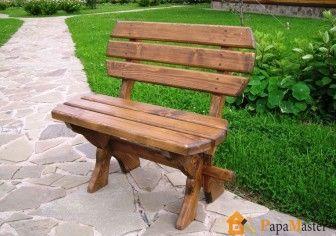 Деревянные скамейки своими руками