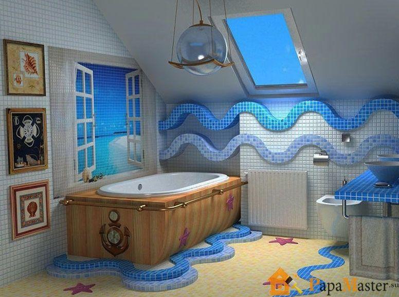 Фото дизайна плитки ванной комнаты и