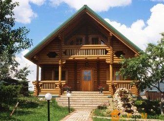 Дома из цилиндрического бревна