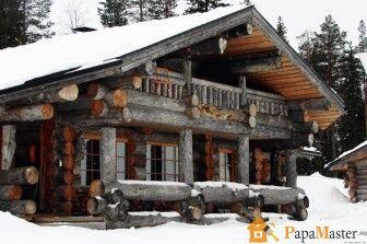 Дома рубленные из бревна