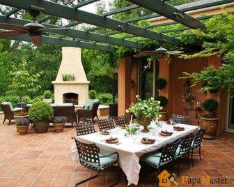 Летняя кухня на даче фото 1